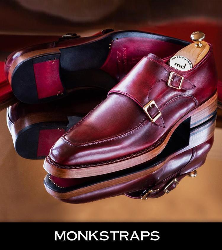 High End Monk Strap Shoes